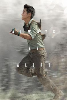 The Maze Runner movie poster!