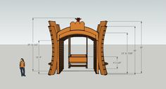 Reno Arch with swing!