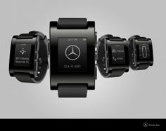 Mercedes Adds Pebble Smartwatch to Its Roster of Integrated Wearables | Autopia | Wired.com