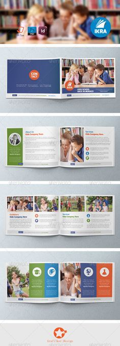 School Brochure Template Free Education Brochure Psd Templates - School brochures templates