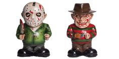There's certainly no shortage of wacky Freddy Krueger and Jason Voorhees merchandise out there in the world, from YoYos to toasters, spitballs to candy bowls. Later this year, the two horror icons are even becoming Mr. Potato Head toys, and things are about to get even weirder. Just announced for the 2015 Halloween season, MorbidRead More