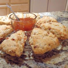One Perfect Bite: Apricot and Ginger Scones