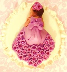 To to cute. Cant go wrong with this pretty cake by CakeToppersPlus, $28.00