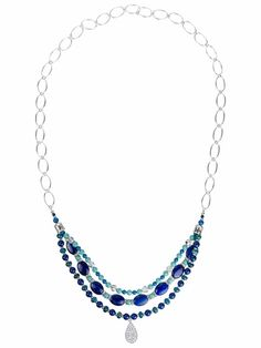 Images for Lapis Layers Necklace