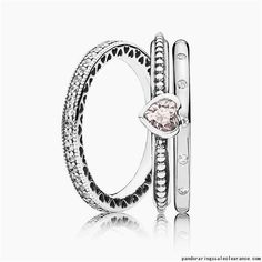 32bbf6bb4 Pandora rings sale clearance deals UK rings set sale free shipping love  heart ring silver #