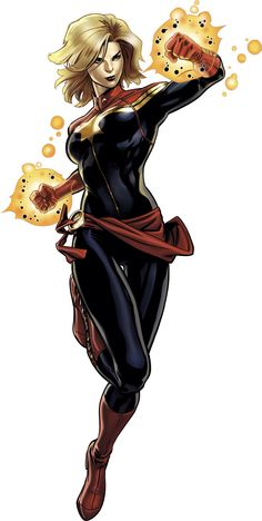 Captain Marvel of Marvel Now - Cooming soon at Marvel Avengers Alliance