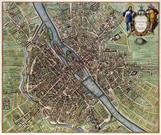 Paris Map 1657