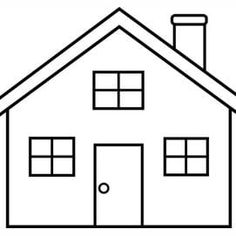 1 / 11 Got it! Ok! House Colouring Pages, Coloring Pages For Kids, Coloring Sheets, Hand Coloring, Simple House Drawing, House Drawing For Kids, Easy Drawings For Beginners, Easy Drawings For Kids, Easy Drawing Steps