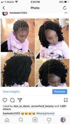 Crochet Braids For Little Kids Pictures braid pattern for crochets in 2020 kids braided hairstyles Crochet Braids For Little Kids. Here is Crochet Braids For Little Kids Pictures for you. Crochet Braids For Little Kids crochet braids for kids find y. Kids Crochet Hairstyles, Crochet Braids For Kids, Lil Girl Hairstyles, Black Kids Hairstyles, Natural Hairstyles For Kids, Kids Braided Hairstyles, My Hairstyle, Crochet Hair Styles, Natural Hair Styles