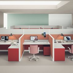 Work Station Configuration - Not colour ; Corporate Office Design, Office Interior Design, Office Interiors, Office Designs, Latest Dining Table Designs, Office Space Planning, Office Color Schemes, Used Office Furniture, Small Space Office