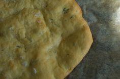 Besan flour flat bread