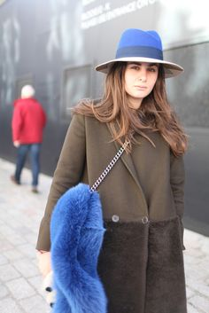 electric blue accents in London
