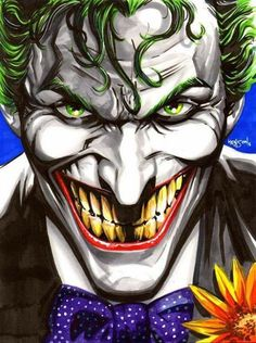The Joker by Eric Henson #EricHenson #thejoker #batman #GothamCity #clownprinceofcrime #ArkhamAsylum #Joker