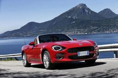 The New Fiat 124 Spider Pricing and Specifications announced Fiat Sport, Spider Pictures, New Fiat, Fiat 124 Spider, 2020 Ford Explorer, Fiat Cars, Jaguar F Type, Spiegel Online, Cars Uk