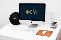 Free iMac Mockup – White Desk - by Creative Sofa