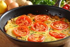 Przepis na Omlet ziemniaczany z wędzonką