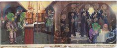 Vintage Creature Cantina Playset background (Cantina interior) backdrop