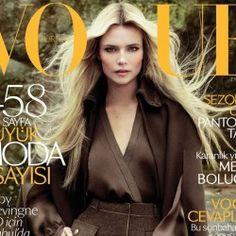 Vogue Turkey September 2012 : Natasha Poly : Cuneyt Akeroglu