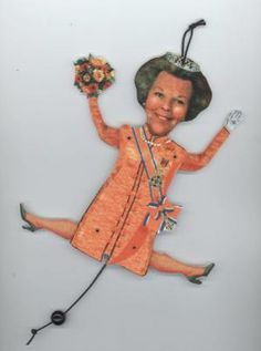 Queen Beatrix - trekpop koningin Beatrix