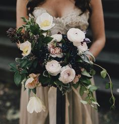 Beautiful foresty bouquet