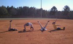 Softball love.