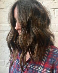Cool girl locks. Hair by SALON by milk + honey stylist, Sage H.