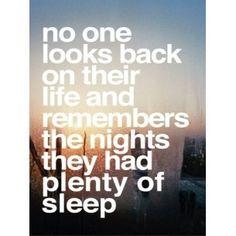 sleep... I miss you :'(