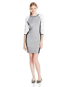 A+ro colorblock sweater dress
