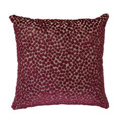 Discover the Emanuel Ungaro Polka Dot Velvet Pois Cushion Cover - Plume at Amara