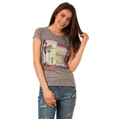 Tricou Cu Imprimeu Let's Find A Place To Get Lost Grey Lost, How To Get, Let It Be, Grey, Casual, Gray, Repose Gray, Random, Casual Outfits