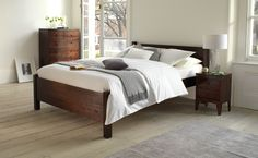 Phase 2 - Good double bed for spare room - 135x190. Beds > Trinity Bed | Warren Evans