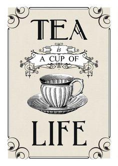 Tea -Free print