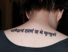 Tattoo Sanskrit / Custom Phrase/ Hindi Body Art by TheIndianBazaar, $2.99
