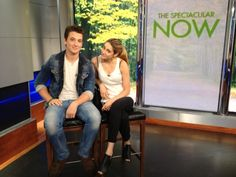 Miles Teller and Shailene Woodley on the NCY morning show New York Live TV Miles Teller Movies, The Spectacular Now, Divergent Movie, Jenny Han, Morning Show, Nicholas Sparks, Shailene Woodley, Living In New York, Live In The Now