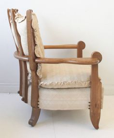 Rare pair Guillerme & Chambron oak armchairs French 50s 60s vintage retro in Antiques, Antique Furniture, Chairs   eBay