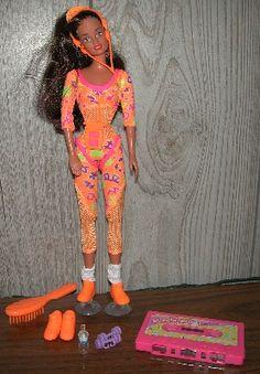 yep I had this!! Gotta love the 90s!!   workout barbie