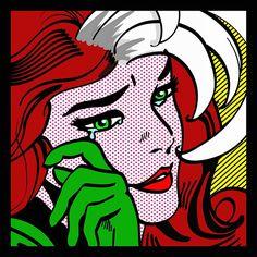 """""""Rogue Pop Art"""" by Melissarogue #Rogue #XMen"""