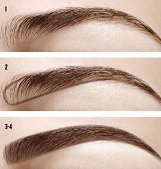 Imagem de eyebrows, makeup, and diy