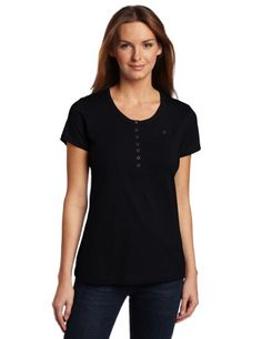 Dickies Women's Shortsleeve Henley Shirt « Clothing Adds Anytime