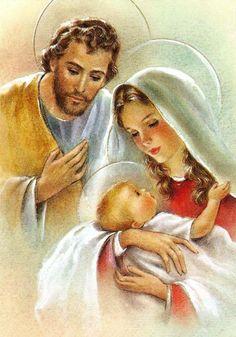 Schema per il punto croce: Sacra Famiglia_6