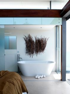 modern bath.