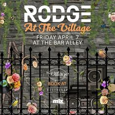 Catch Rodge at BistroBar Live (The Village Dbayeh) on Friday 7th of April.  For info & reservations; call 70-288211.  Location: The Village Dbayeh, Dbayeh Highway