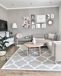 Living Room Grey, Home Living Room, Interior Design Living Room, Living Room Decor, Rooms Home Decor, Living Room Carpet, Gray Room Decor, Living Roon, Living Room Modern
