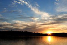 one of my favorite lakes - Clear Lake. Woodruff, WI