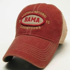 BAMA 2015 Football National Champions Legacy Old Favorite Trucker Hat