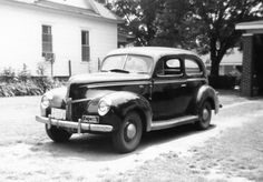 1940 Ford 2 door standard sedan - I learned to drive in this car.  It had a flathead V8 with 90 horsepower.  Both of my brothers learned to drive in this car as well.