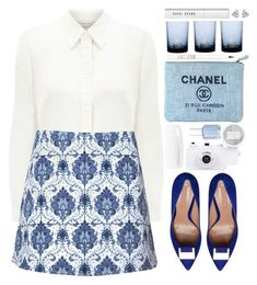 """""""#789 Anouchka"""" by blueberrylexie ❤ liked on Polyvore featuring Eastex, Motel, By Nord, Chanel, Essie, Topshop, Bobbi Brown Cosmetics, Georgini, women's clothing and women"""
