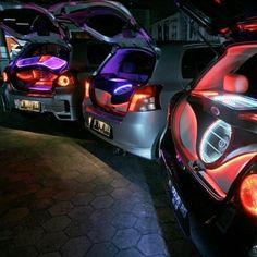 2 led colors is too many. Toyota Yaris Subaru Car Audio