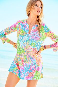 Lilly Pulitzer Marco Island Tunic