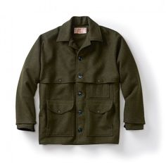 Double Mackinaw Cruiser - Alaska fit - Forest Green - 36